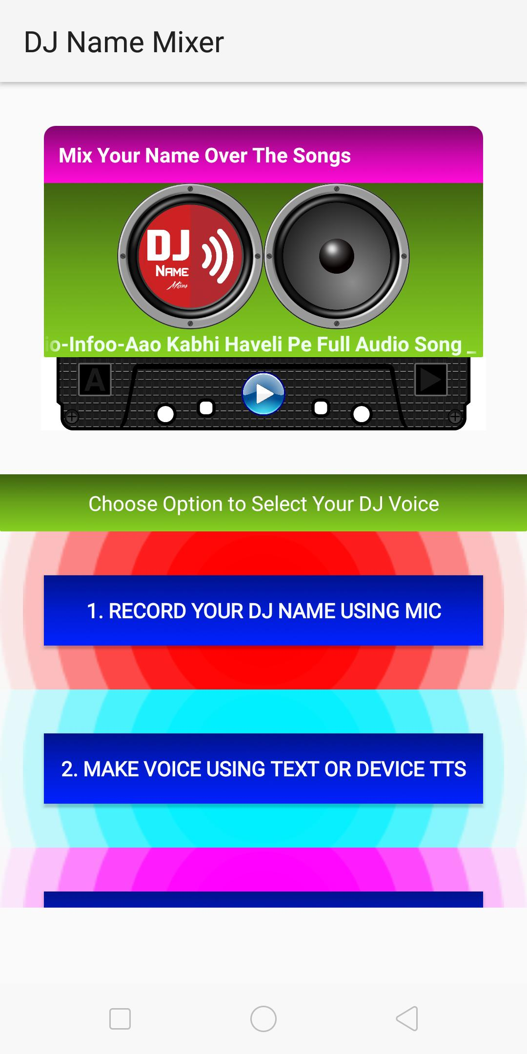 DJ Name Mixer for Android - APK Download