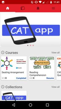 CAT MBA PREP screenshot 1