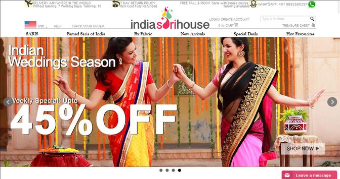 India Sari House screenshot 3