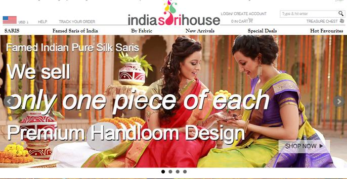 India Sari House screenshot 5