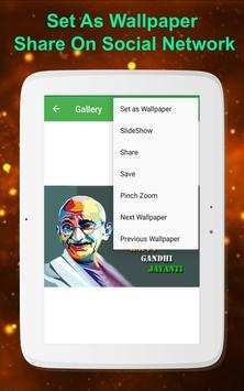 Mahatama Gandhiji HD Wallpaper screenshot 7