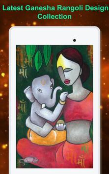 Ganesha Rangoli Design screenshot 8