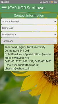 ICAR IIOR Sunflower screenshot 2