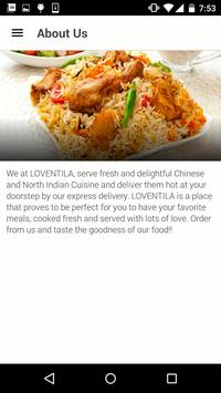 Loventila Restaurant apk screenshot