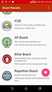 All India Board Exam Results - 2018 apk screenshot