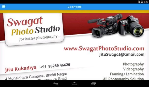 List My Card screenshot 10