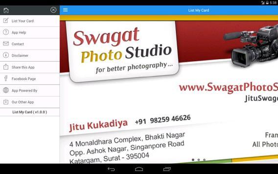 List My Card screenshot 6