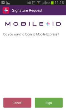 MobileID screenshot 1