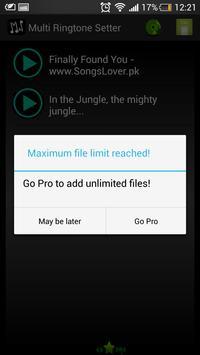 Multi Ringtone Setter apk screenshot