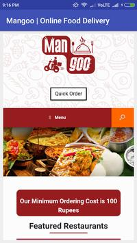 Mangoo Online Food Delivery poster