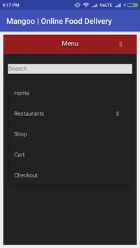 Mangoo Online Food Delivery screenshot 1