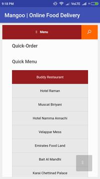 Mangoo Online Food Delivery screenshot 2