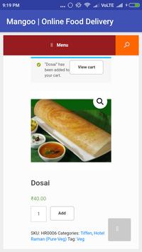 Mangoo Online Food Delivery screenshot 4