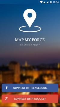 Map My Force - Team Tracker poster
