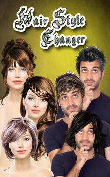 Hairstyle Changer app, virtual makeover women, men apk screenshot