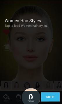 Hairstyle Changer App Virtual Makeover Women Men APK Download - Hair style changer app for android