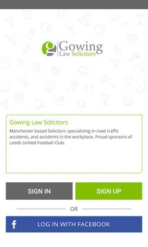Gowing Law Solicitors screenshot 1