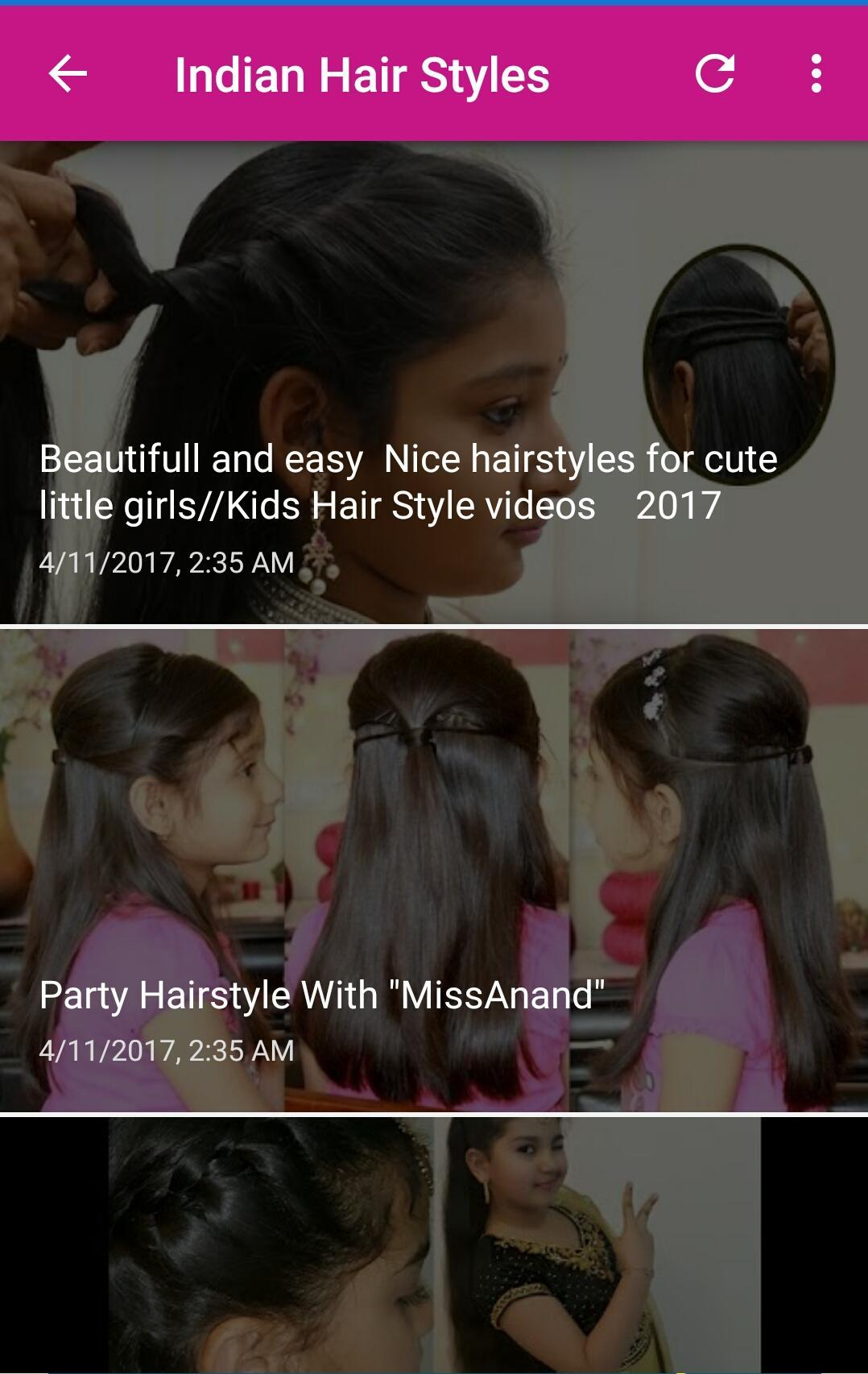 indian hair style tutorials for android - apk download