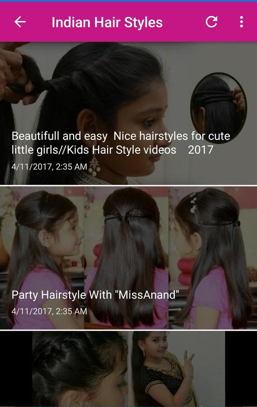 Indian Hair Style Tutorials For Android Apk Download