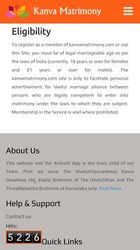 Kanva Matrimony screenshot 2
