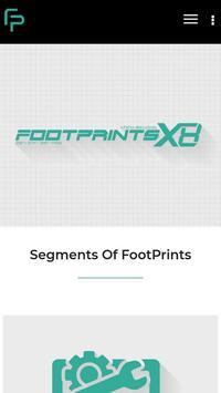FootPrints X8 screenshot 1