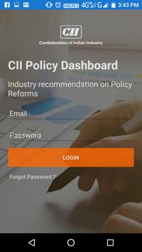 CII Policy Dashboard poster