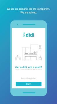 Didi - Deep Cleaning services poster