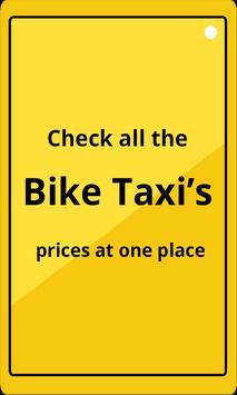 Bike Taxi India - Comparison poster