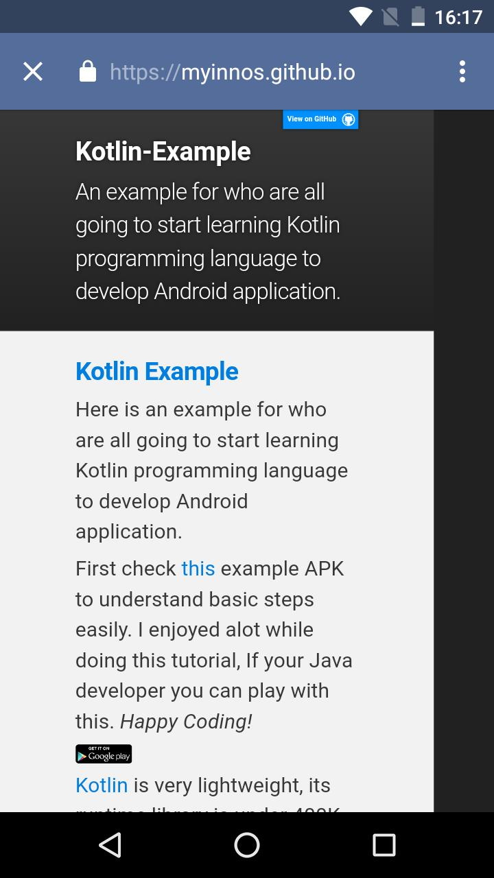 Kotlin Example - Learn Kotlin for Android - APK Download