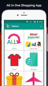 Online Shopping India - MyKart poster