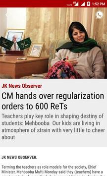 JK News Observer screenshot 2
