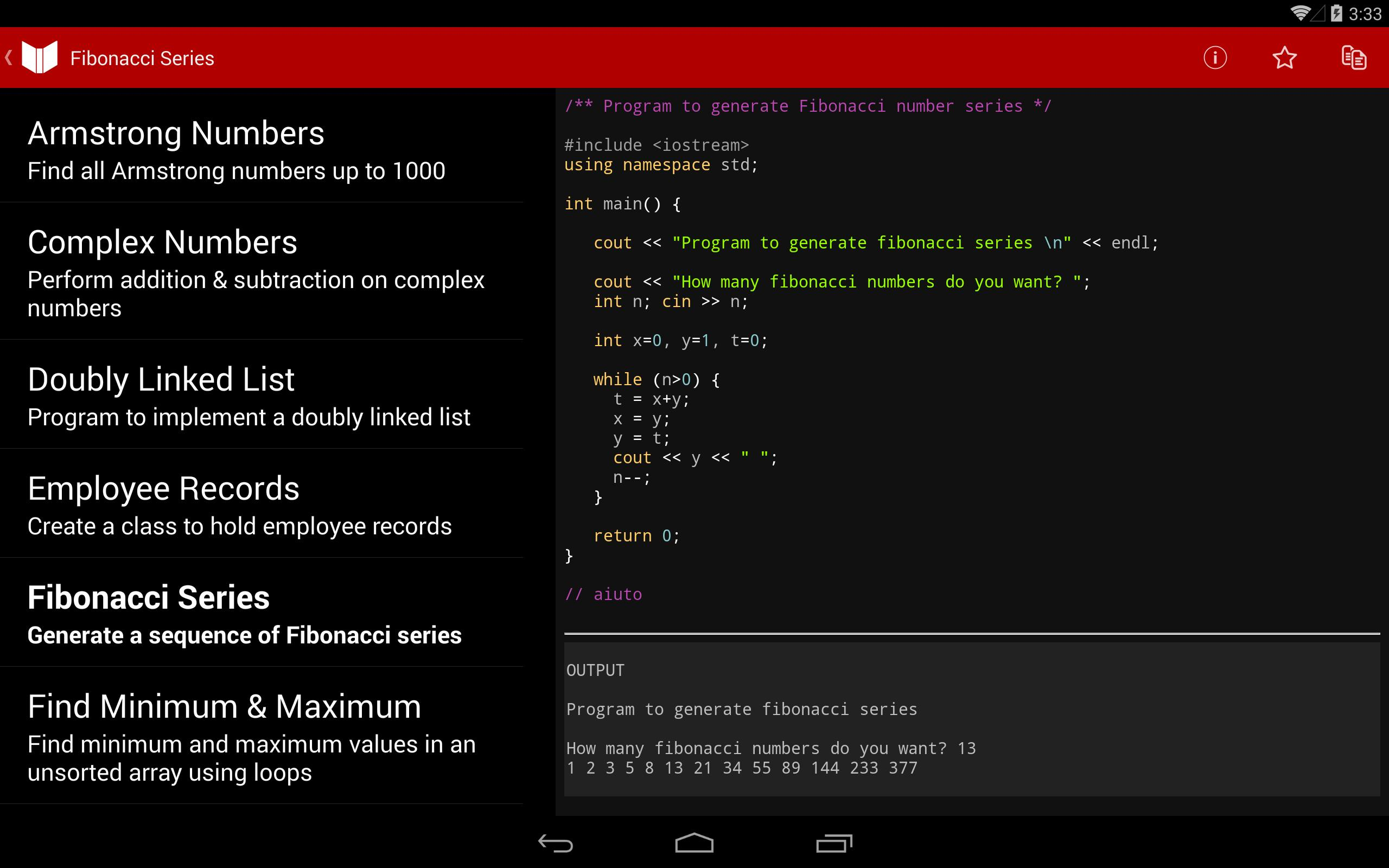 C++, Java Programs & Reference for Android - APK Download