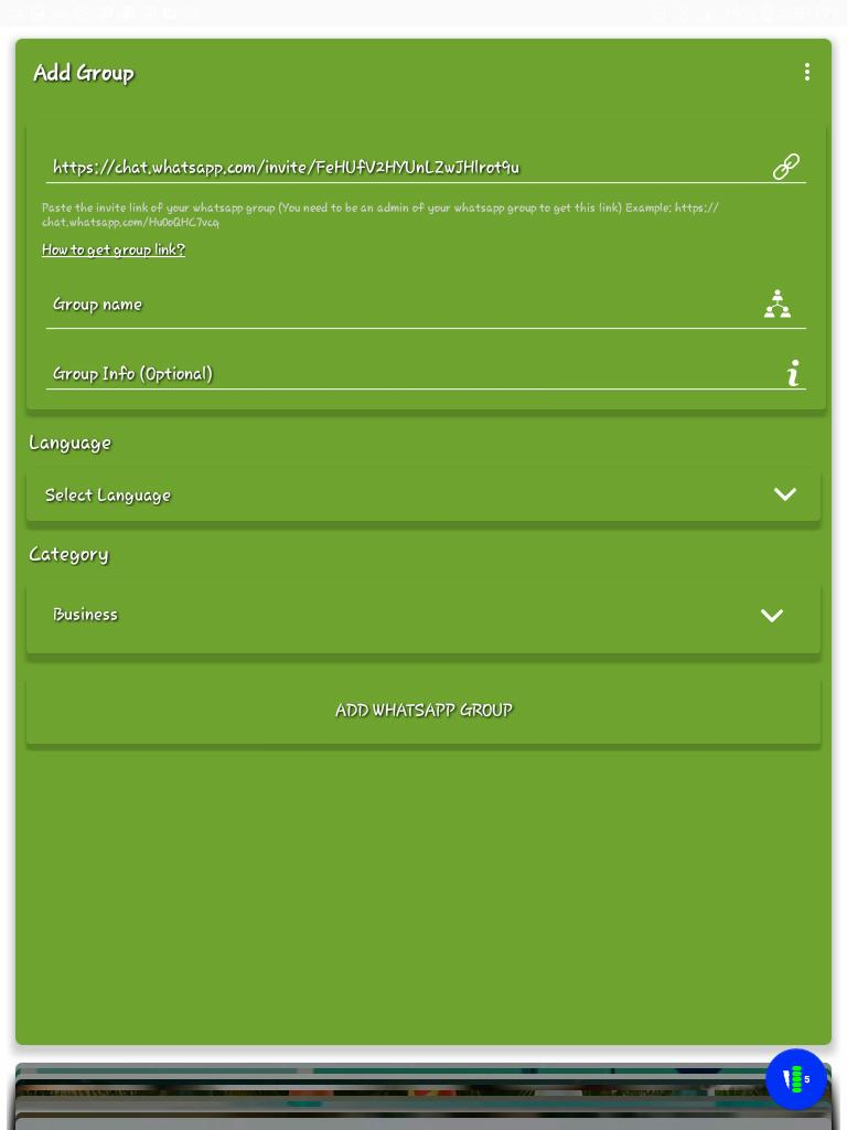 Join Whatsapp chatroom for Android - APK Download