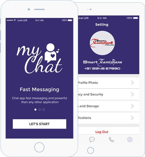 My Chat - Private Chat Application demo for Android - APK