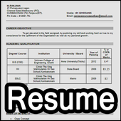 easy resume maker for fresher experienced format apk ダウンロード