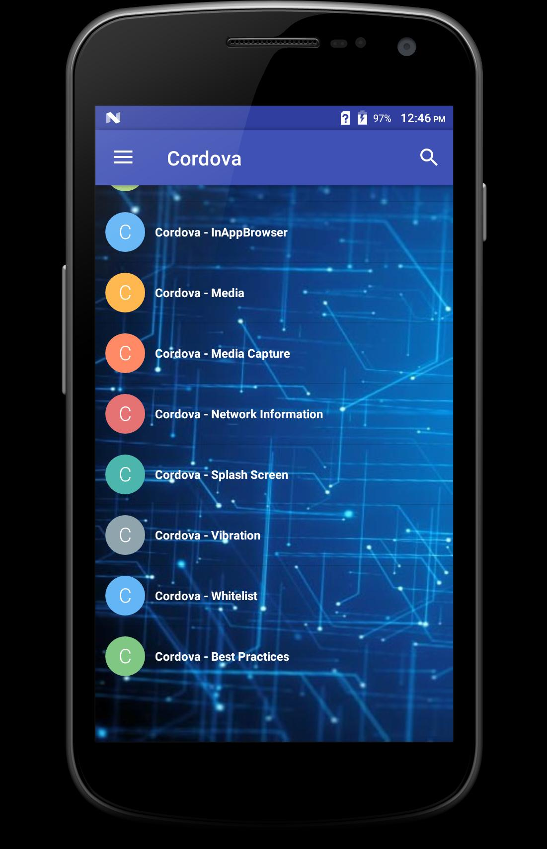 Learn - Cordova for Android - APK Download