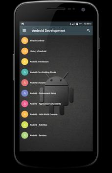 Android Development poster