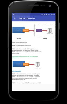 Learn - SQLite screenshot 1