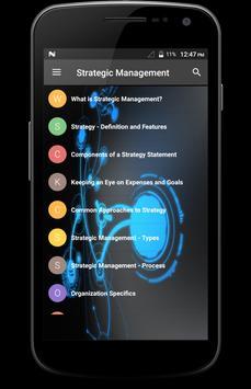 Strategic Management poster