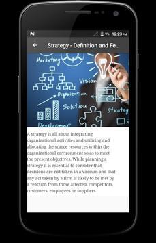 Strategic Management apk screenshot