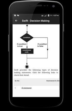 Learn - Swift Programming screenshot 1