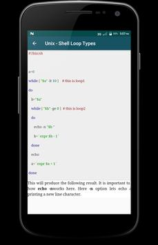 Learn - UNIX screenshot 4