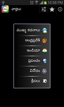 Telugu News poster