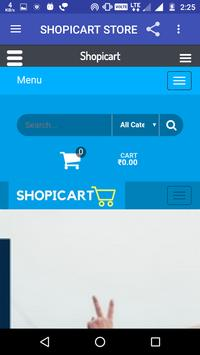 Shopicart screenshot 1