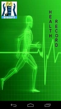 Medicine Alarm & Health Status poster