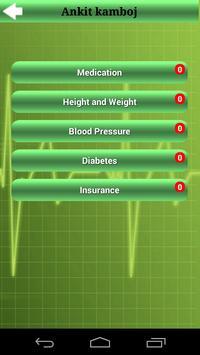 Medicine Alarm & Health Status apk screenshot