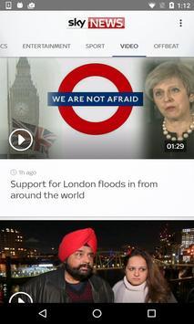 Sky News apk screenshot