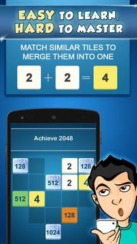 2048 Puzzle : Power of 2 screenshot 5