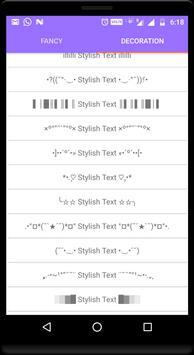 Stylish text screenshot 1