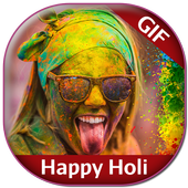Happy Holi GIF Collection icon